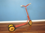 1960s vintage steel kids scooter .JPG